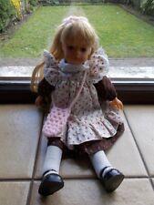 Puppe Schildkrötpuppe Bella Modell Heidi Ott ca. 35cm groß aus den 1960ér Jahre