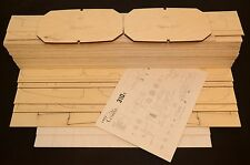 Giant 1/4 scale CESSNA 310G Laser Cut Short Kit, Plans & instruction 120 in. WS
