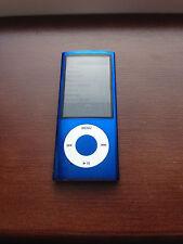Apple 8GB iPod Nano 5th Generation Blue Camera A1320 NEW