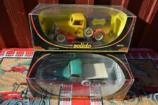 Solido Prestige Ford Pickup Trucks (1 Green) (1 Yellow)