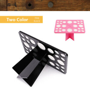 Makeup Brushes Holder Stand Collapsible Air Drying Makeup Brush Organizing Holde