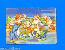 BIANCANEVE E I SETTE NANI - Lampo 1951 - Figurina-Sticker n. 105 -Rec