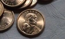 Golden Sacagawea Dollars, 2000 P, Un-Circulated, Highly Collectable, One Dollar