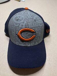 chicago bears NFL draft hat new era M/L