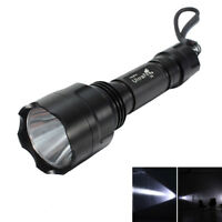 UltraFire W-878 2000LM CREE XML T6 LED Flashlight 5-Mode Torch Lamp Zoomable US