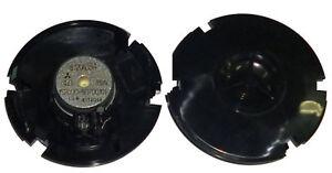 4 X Panasonic Small Black Dome Tweeters Two Pair Car Speakers 15 Watt Brand New