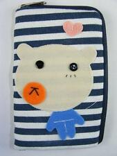 HANDCRAFTED FABRIC Animal CELL PHONE BAG TOTES (PIGGY)