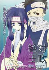 Naruto Bl Doujinshi Comic Zabuza x Haku Naruto x Iruka Absolute Monarchy Killme