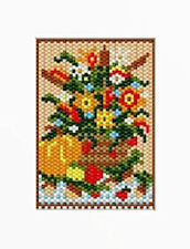 FALL FLORAL BEADED BANNER PDF PATTERN ONLY
