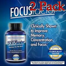 FOCUSfactor Nutrition for the Brain Tablets, 60ct, 2 Pack 726000104059A1499