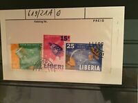 Liberia space cancelled stamps R21819