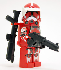 LEGO STAR WARS-Custom Clone Trooper Shock Trooper Havoc Armour + DC15A & DC15S