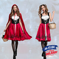 Little Red Riding Hood Costume Book Week Ladies Dress Up Deluxe Fairytale