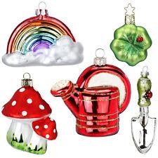 Inge Glas Weihnachtskugeln Mille Fiori bunt Farbmix Kugeldose Mini Sortimente