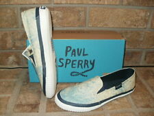 New Sperry Top-Sider Sayel Dive Palm Sky Canvas Boat Shoe STS99252 $60