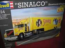 """REVELL® 07547 1:24 """"SINALCO"""" SHOWTRUCK &TRAILER NEU OVP"""