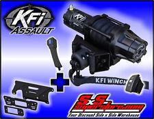 5000 lb KFI Assault Winch Mount Combo - 2013-2018 Polaris Ranger XP 900