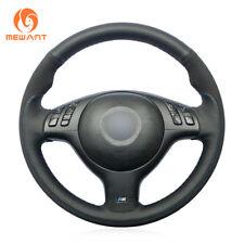 Leather Suede Steering Wheel Cover for BMW E36 E36/5 E46/5 5 Series E39 M3 M5