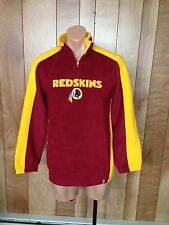 BOY'S WASHINGTON REDSKINS 1/2 ZIP FLEECE-SIZE: XL
