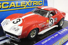 SCALEXTRIC C3229 1968 CORVETTE STINGRAY L88 COUPE LIMITED EDITION 1/32 SLOT CAR