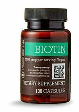 Amazon Elements TRBO1-20JN23321 5,000 mg Biotin - 130 Capsules