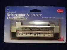 Cooper 335 Professional Refrigerator Freezer Thermometer Non-toxic Spirit Filled