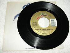 "Michael Jackson ""Wanna Be Startin' Somethin' "" & Instrumental,45 RPM,7"",Nice NM!"