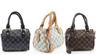 Ladies Small JM928 Mini Duffel Style Handbag Women Cross Body Shoulder Grab bag