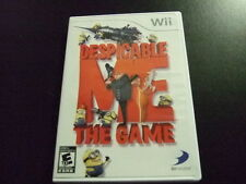 Replacement Case (NO GAME) DESPICABLE ME THE GAME NINTENDO WII