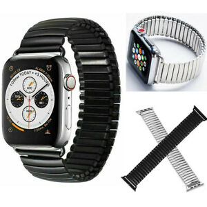 Metal Steel Link Watch Band Strap for Apple Watch Series 6 5 4 3 2 38/40/42/44mm