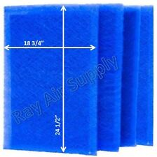 RayAir Supply Dynamic RS2-1400 Replacement Filter Pads (4 Pack)