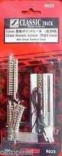 ROKUHAN Z R023 NOCH 97023 ELEKTRISCHE RECHTE WEICHE 55mm & TRIMMGLEIS - NEU