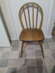 Vintage Ercol Type 400? Ash & Elm Stick back Chair £35!