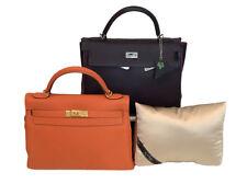 Bag-a-Vie Fits Hermes Kelly 32 Purse Pillow Storage Handbag Insert Shaper