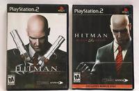 Playstation 2 - Hitman Blood Money & Contracts Bundle (PS2) Complete NTSC-U/C