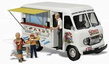 WOODLAND SCENICS AUTO SCENE IKE'S ICE CREAM TRUCK HO SCALE VEHICLE