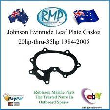 A Brand New Johnson Evinrude Leaf Plate Gasket 20hp-thru-35hp 1984-2005 # 326260