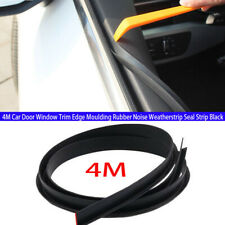 Car Door Window Trim Edge Moulding Rubber Noise Weatherstrip Seal Strip V shape