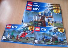 Lego City - Bauplan City 60174  - only construction
