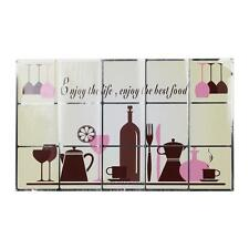 DIY Removable Kitchen Mural Art PVC Heat-resistant Wall Sticker Home Decal Decor