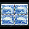 NEWFOUNDLAND 1897 3c Light Blue. SG 68. Block of 4. Lightly Hinged Mint. (AY513)