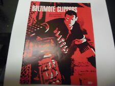 1967 AHL HOCKEY PROGRAM BALTIMORE CLIPPERS VERY RARE VS PROVIDENCE REDS