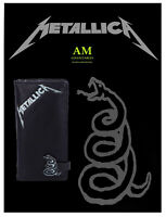 NEMESIS NOW METALLICA - GELDBÖRSE - PORTMONEE - THE BLACK ALBUM EMBOSSED NEU/OVP