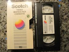 Scotch VHS Reinigungskassette Head Cleaner