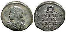 CONSTANTIUS II (324-337 AD) Very Rare Follis. Rome #KA 6868