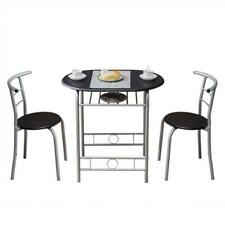 PVC Breakfast Table (One Table and Two Chairs)