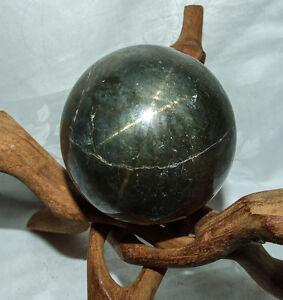 STERN-Chalkopyrit Kugel - golden schimmernd und sehr selten -  7,4 cm;  1006 g
