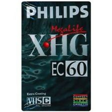 Philips XHG EC60 Megalife 60 Minute Camcorder Tape Fast Servic