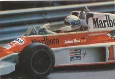 Marlboro Jochen Mass Postcard Posted
