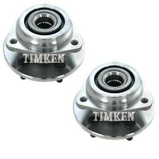 Pair Set 2 Front Timken Wheel Bearing Hub Kit for Jeep Cherokee TJ Wrangler 4WD